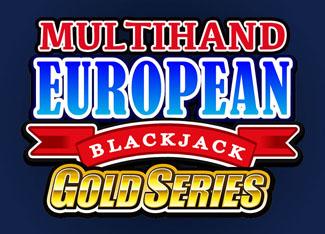 Multi-hand European Blackjack Gold