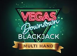 Multi Hand Vegas Downtown Blackjack