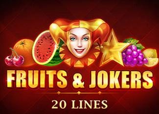 Fruits & Jokers 20 Lines