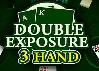 3 Hand Blackjack Double Exposure