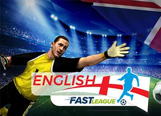 English Fast League Football Match