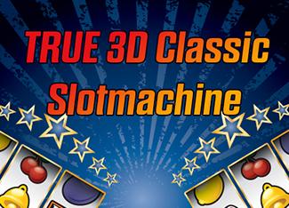 True 3D Classic Slotmachine