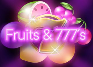 Fruits & 777's