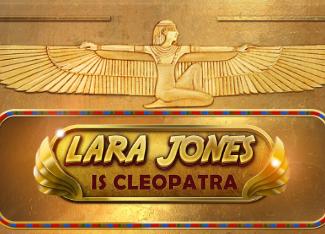 Lara Jones is Cleopatra